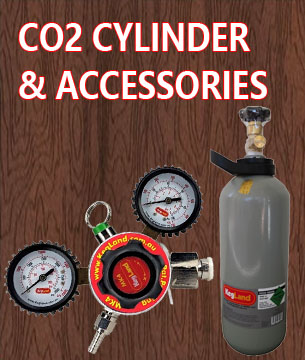 CO2 Cylinder & Accessories